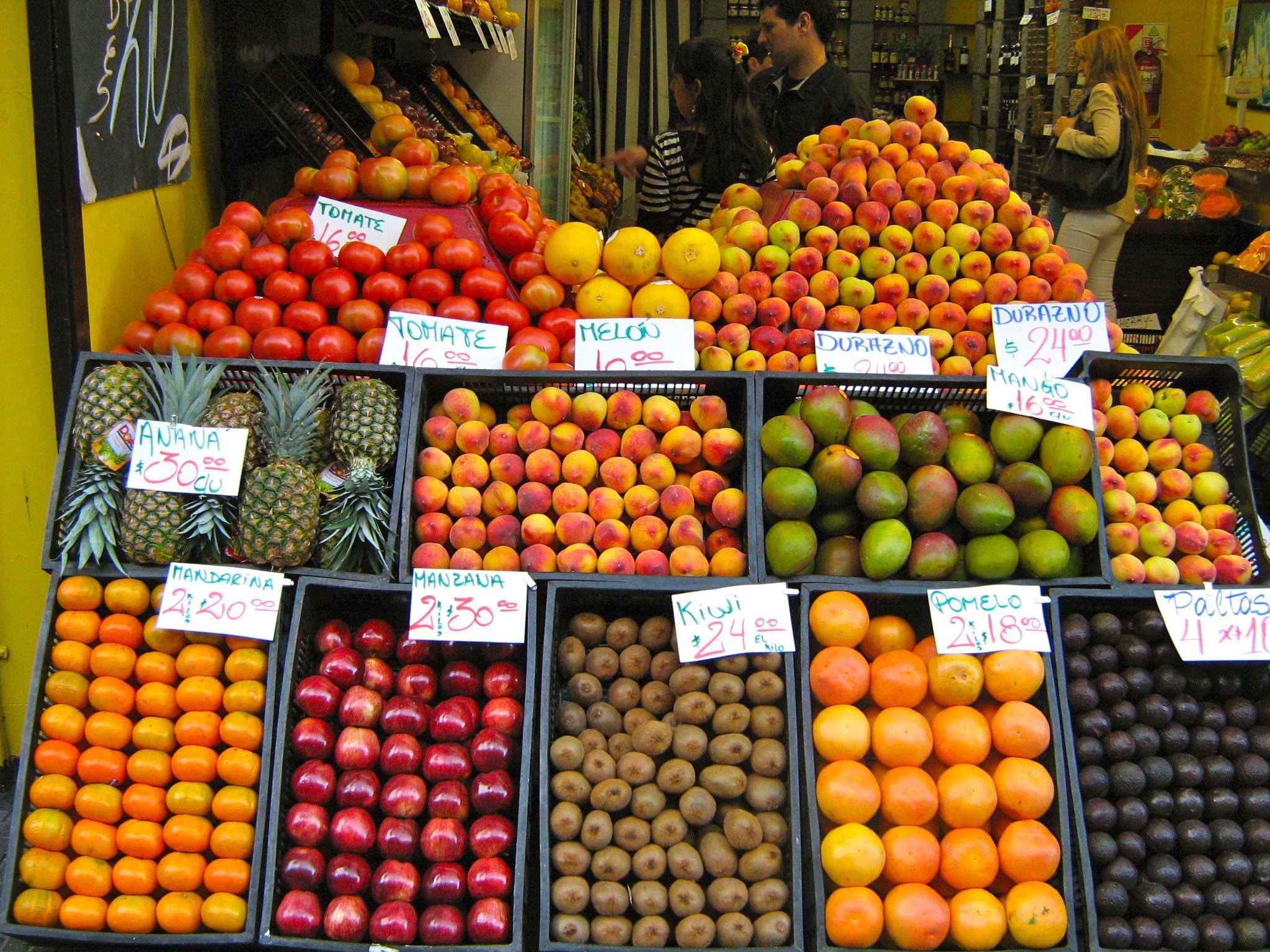 Shop Fruit