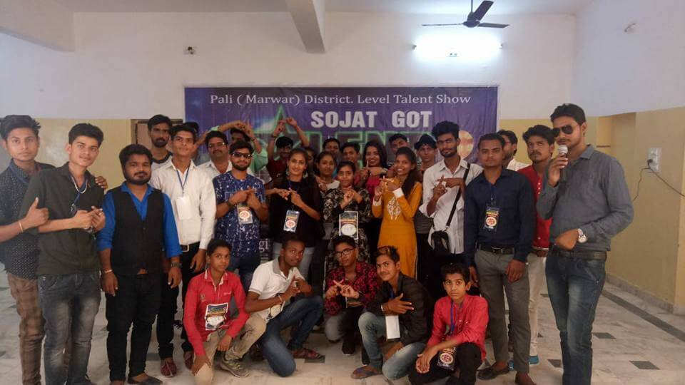 sojat got talent pali audition